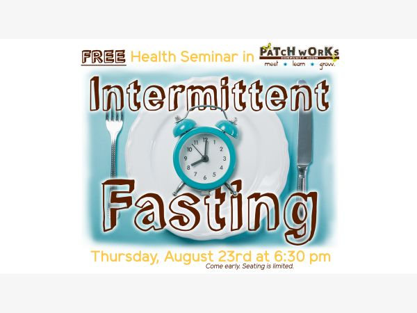 aug 23 free health seminar intermittent fasting clearwater fl