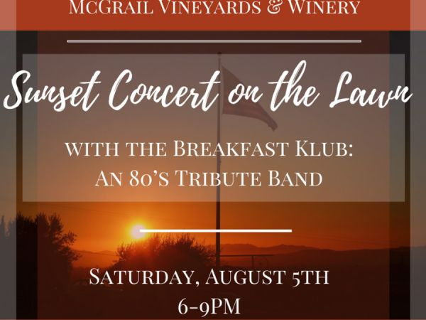 Mcgrail Vineyards And Winery 5600 Greenville Road Livermore Ca 94550