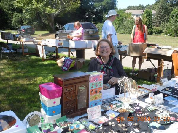 Aug 6 Grace Episcopal Church Yard Sale Bake Sale