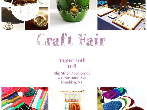 Aug 20 Craft Fair Bed Stuy Ny Patch