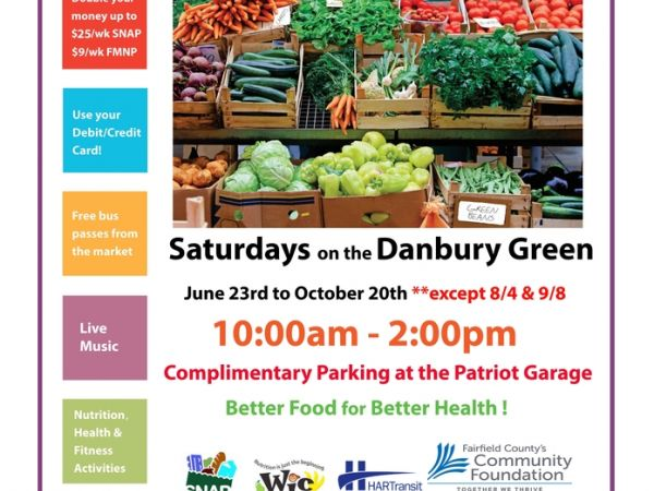 Danbury Farmers' Market Opening Day - Saturday