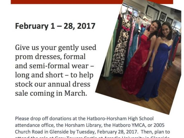 Mar 1 | Prom Dress Donation Drive | Hatboro-Horsham, PA Patch