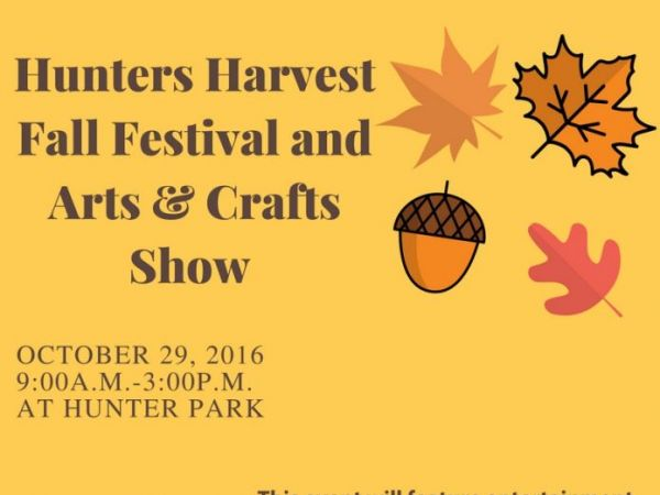 Oct 29 hunters harvest fall festival and arts and crafts for Arts and crafts festivals in georgia