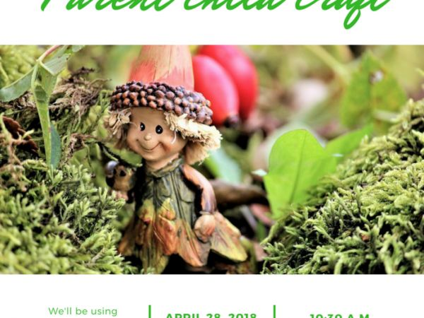 Apr 28 Make your own Fairy Garden at the Cranford Library