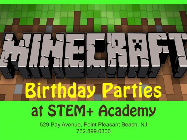 Feb 3 Minecraft LEGO Robotics and More STEMthemed Birthday