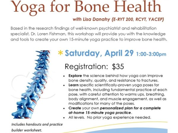 Apr 29 Yoga For Bone Health With Lisa Danahy The Happy Yogi. Yoga For Bone Health With Lisa Danahy The Happy Yogi. Worksheet. Silver Builder Worksheet At Clickcart.co