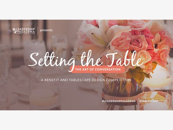 Jul 21 | Setting the Table..The Art of Conversation | Altadena, CA Patch