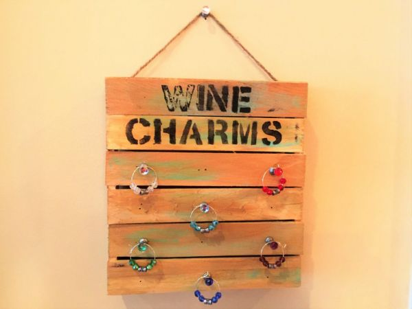 sep 29 diy wine charm holder and wine charms event by