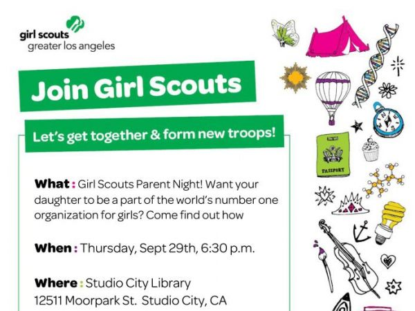 Sep 29 girl scout parent info event thurs 9 29 at for Girl scout calendar template