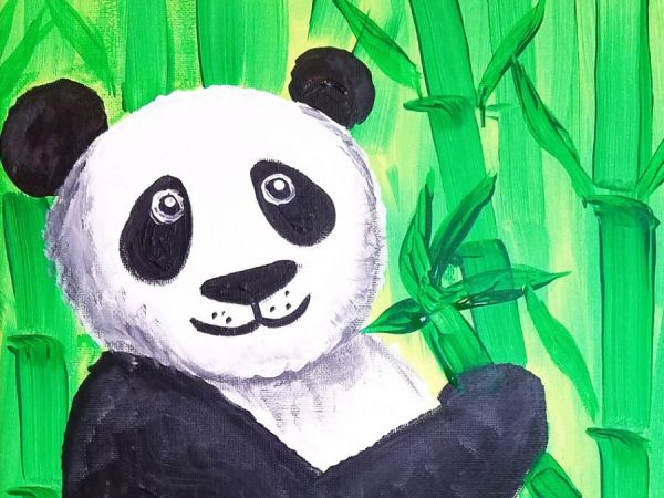 Jan 28 Lucky Panda Painting Party Long Valley Nj Patch