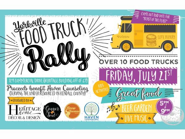 Jul 21 Yorkville Food Truck Rally Yorkville Il Patch
