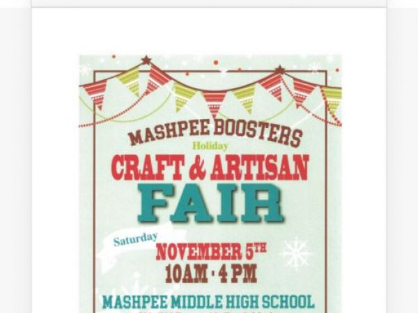 Mashpee High School Craft Fair