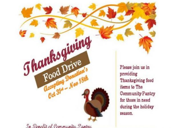 Nov 18 | Thanksgiving Food Drive | Banning-Beaumont, CA Patch
