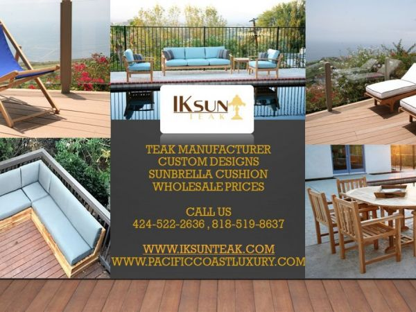 Amazing TEAK OUTDOOR PATIO FURNITURE SALE, 4907 Topanga Canyon Blvd., Woodland Hills,  CA 91364