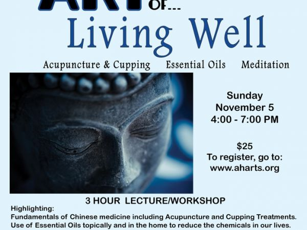 Atlantic Highlands Arts Council Presents: The Art Of Living Well, A 3 Hour