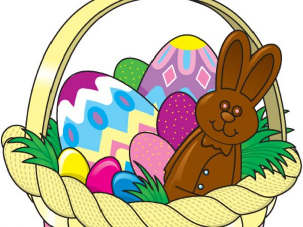 mar 24 free easter baskets for kids danvers ma patch rh patch com easter egg basket clipart easter bunny holding basket clipart