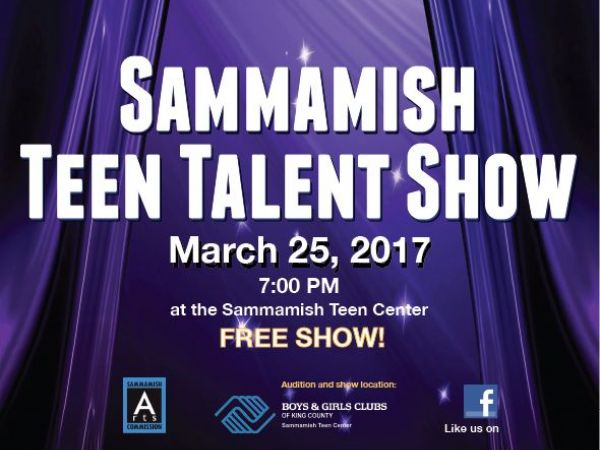 Teen Talent Show Tickets, Sat, Feb 11, 2017 at 12:00 PM