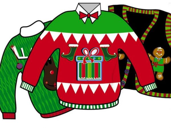 dec 9 free ugly sweater yoga durham middlefield ct patch rh patch com Ugly Christmas Sweater Contest Clip Art Free free clipart of ugly christmas sweaters
