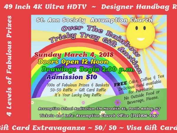 Mar 4 gift auction woodbridge nj patch gift auction reheart Image collections