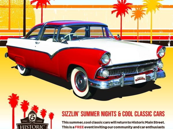 Car Cruise, Sizzlinu0027 Summer Nights And Cool Classic Cars