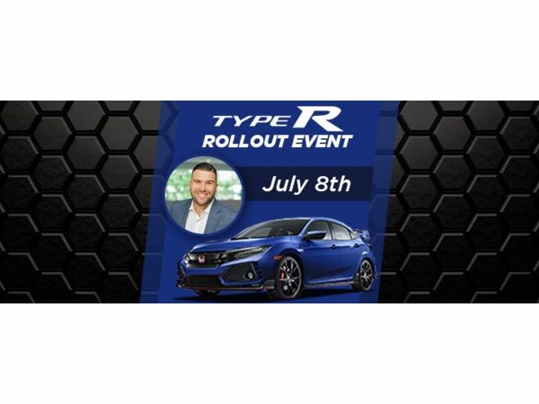 Honda Civic Type R Rollout Featuring Carlos Gil