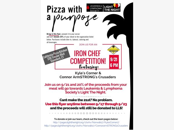 Sep 21 | California Pizza Kitchen Iron Cheff Competition For ...
