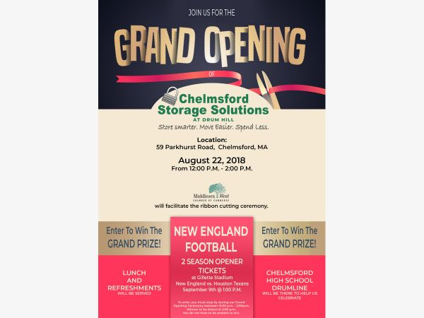 Ordinaire Ribbon Cutting   Chelmsford Storage Solutions Grand Opening