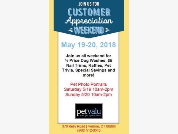 May 19 join us at pet valu of vernon for our customer appreciation join us at pet valu of vernon for our customer appreciation event solutioingenieria Gallery