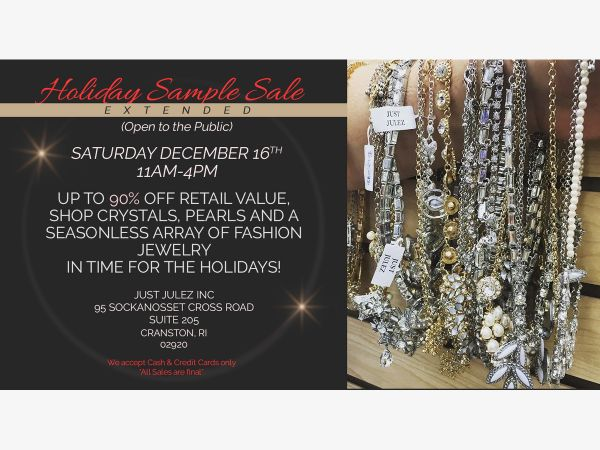 Dec 16 jewelry sample sale cranston ri patch jewelry sample sale stopboris Image collections