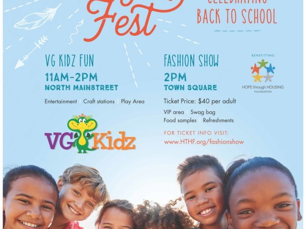 Join Victoria Gardens For A Kidz Fest Event And Fall Fashion Show
