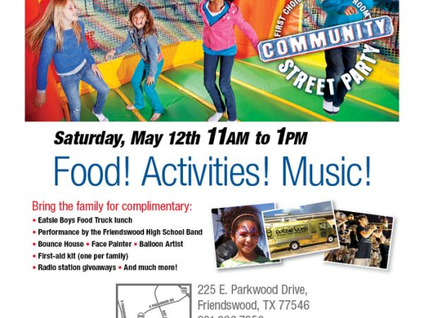 May 12   Food! Activities! Music!   Houston, TX Patch
