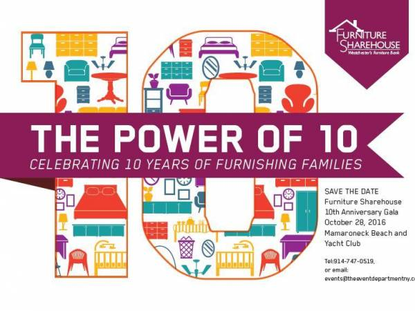 Oct 28 Furniture Sharehouse 39 S 10th Anniversary Power Of 10 Gala Larchmont Mamaroneck Ny Patch