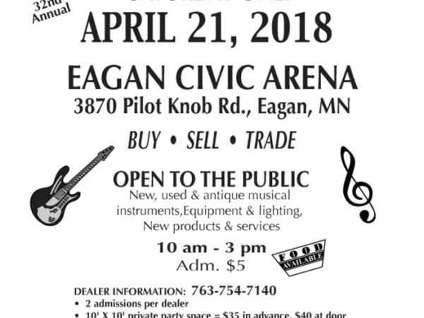 apr 21 musicians trade fair eagan mn patch
