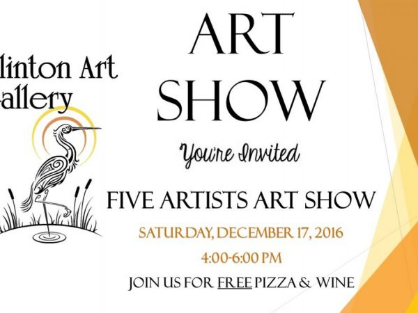 Dec 17 art show with five artists clinton ct patch for Craft fairs in ct december