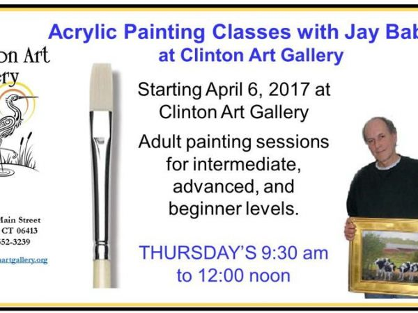 Acrylic painting classes with jay babina madison ct patch for Painting classes ct