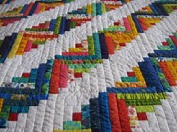May 10 | Beginner Quilting: Ripped Log Cabin Quilt | Grayslake, IL ... : quilt patch management - Adamdwight.com