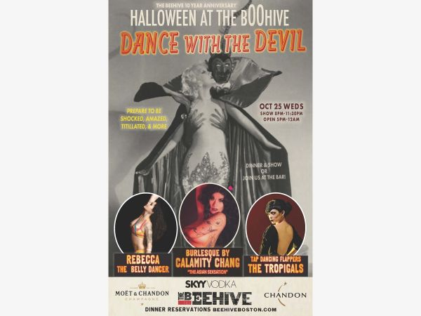 The Beehive, 541 Tremont Street, Boston, MA 02216