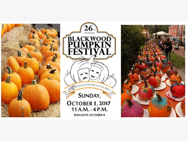 oct 1 blackwood pumpkin festival presented by mainstage center