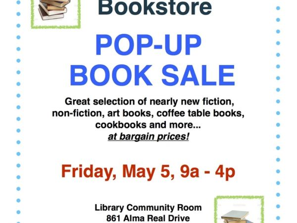 Palisades Library Pop Up Book Sale