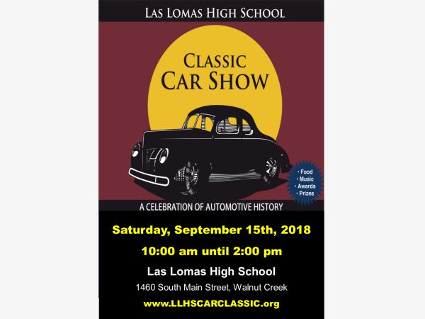 The 9th Annual Las Lomas Car Classic  September 15th 10am-2pm