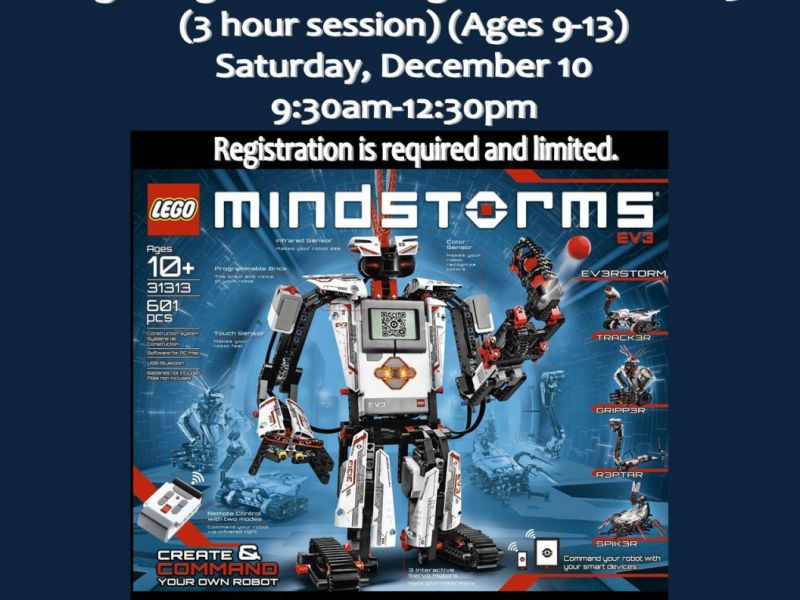 Beginning Robotics Lego Mindstorms Ev3 Alsip Crestwood Il Patch