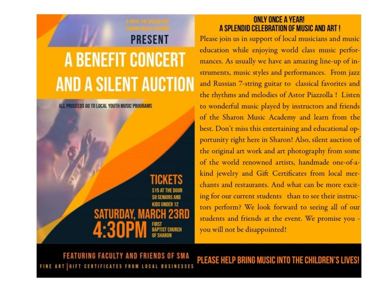 Benefit Concert and Art Auction