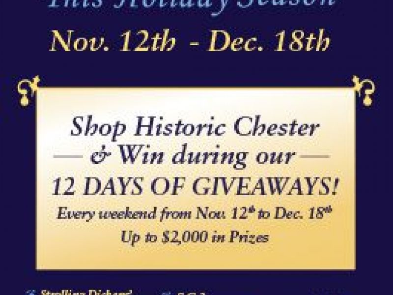 Chesters Holiday 12 Days of Giveaways Contest & Festivities