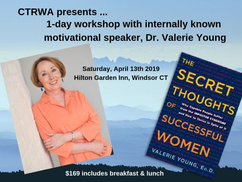 1-day Workshop with Imposter Syndrome Expert, Valerie Young