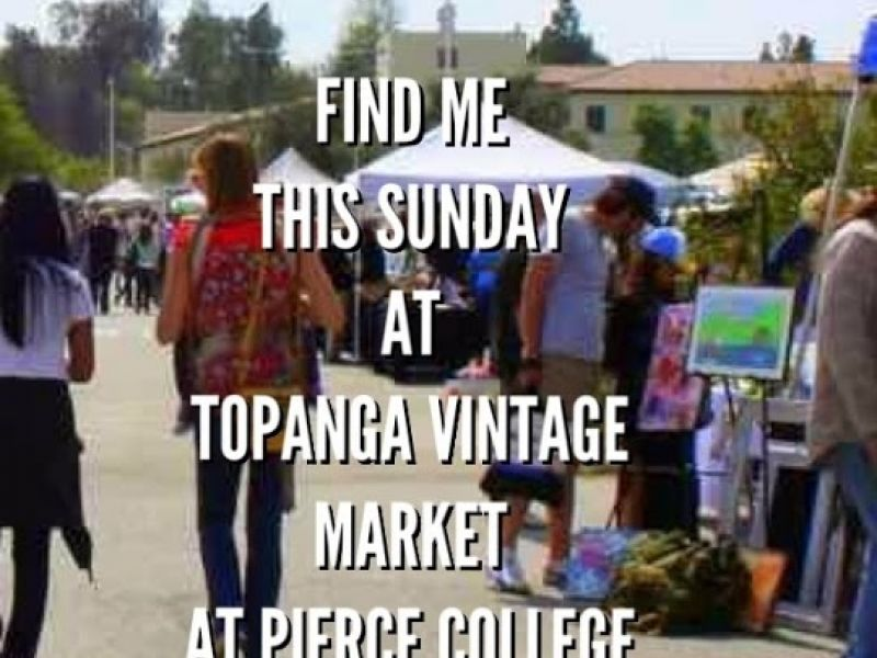 Topanga Vintage Market at Pierce College