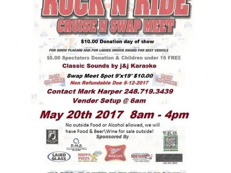 May 20 Rock N Ride Car Show Amp Swap Meet Plymouth