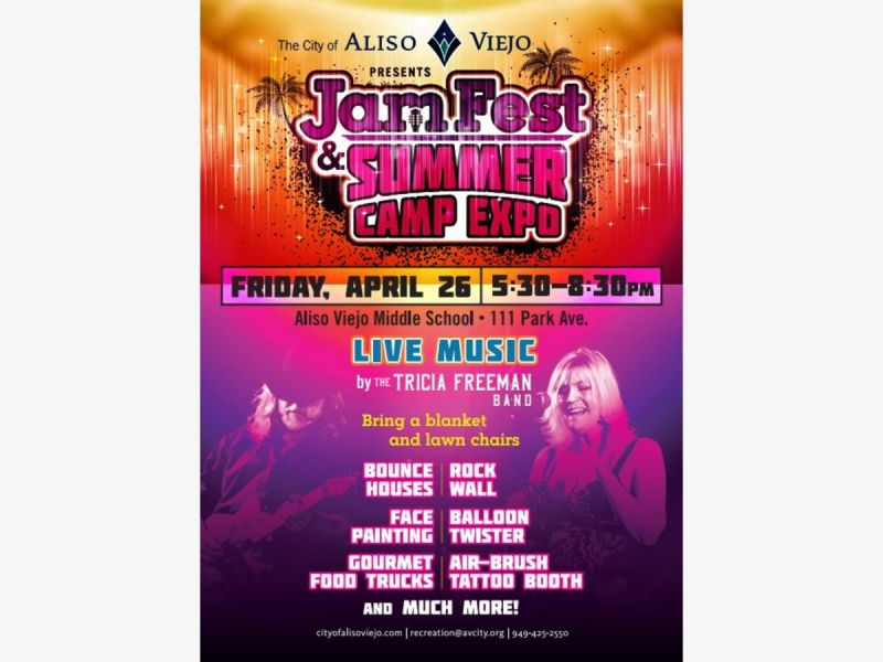 Aliso Viejo JamFest & Summer Camp Expo