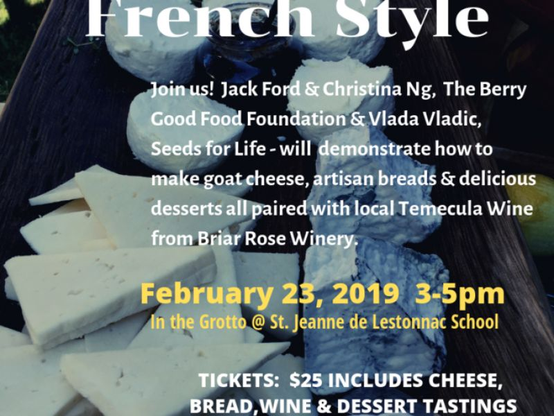 A Wine & Cheese Event