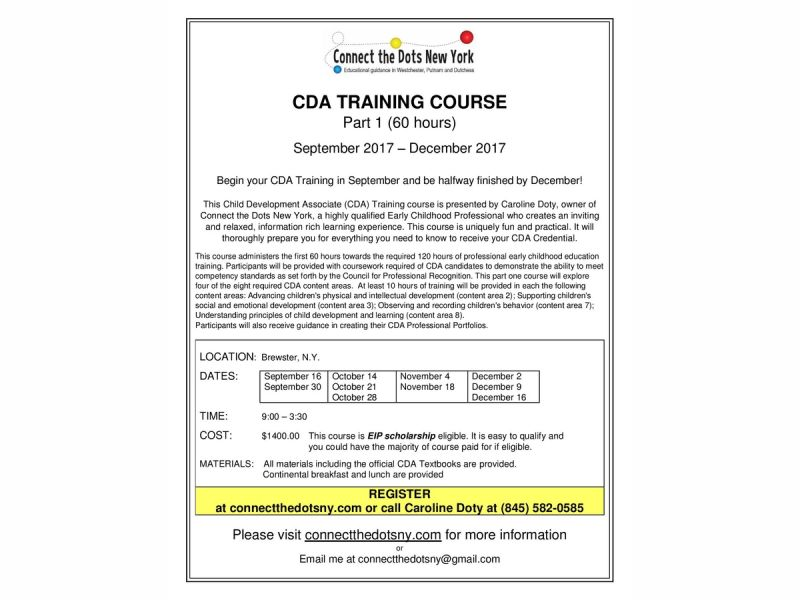Sep 16 Cda Training To Begin In Brewster In Sptember Southeast