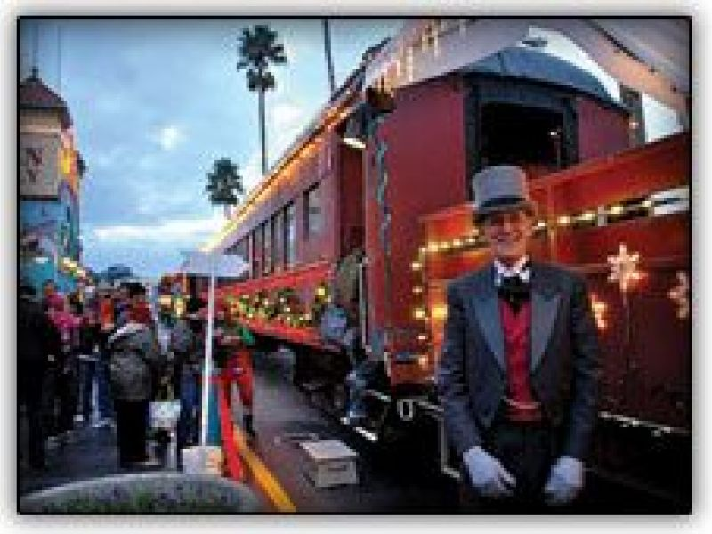 Nov 26 Santa Cruz Holiday Lights Train Los Altos Ca Patch